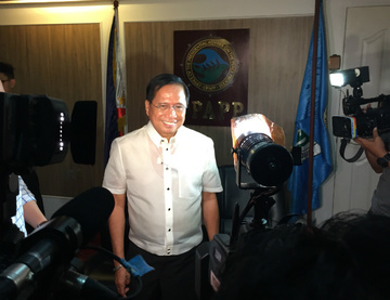 AGENDA. Presidential Adviser on the Peace Process Jesus Dureza says that mutual ceasefire agreement is part of the agenda of the incoming meeting with the NDFP in July. Photo by Jodesz Gavilan/Rappler