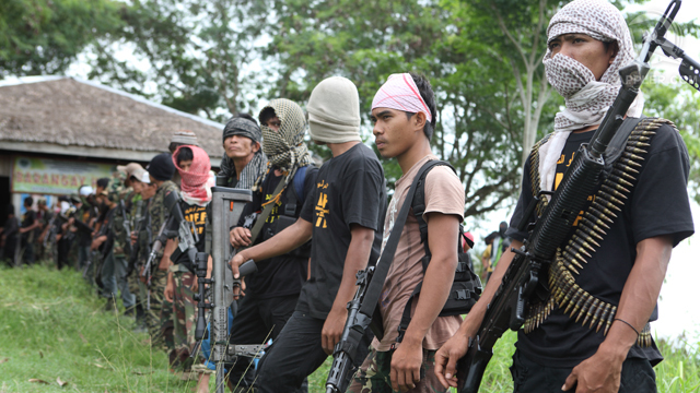 THREAT. File photo of members of the Bangsamoro Islamic Freedom Fighters in Central Mindanao. Photo by Rappler