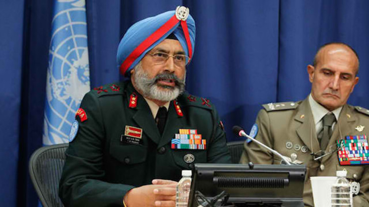 GOOD JUDGMENT? UN Under Secretary-General for Peacekeeping Operations Herve Ladsous says he fully trusts UNDOF Commander Lieutenant General Iqbal Singha. File photo of Singha from the UN web site