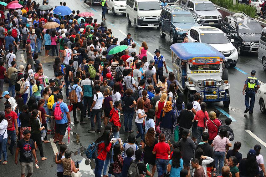 QUEZON Boulevard in Manila. Photo by Inoue Jaena/Rappler
