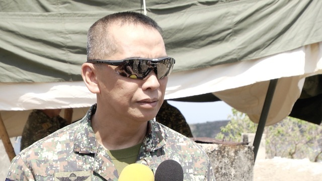 Philippine Marine Corps Training Center Superintendent Colonel Alvin Parreño