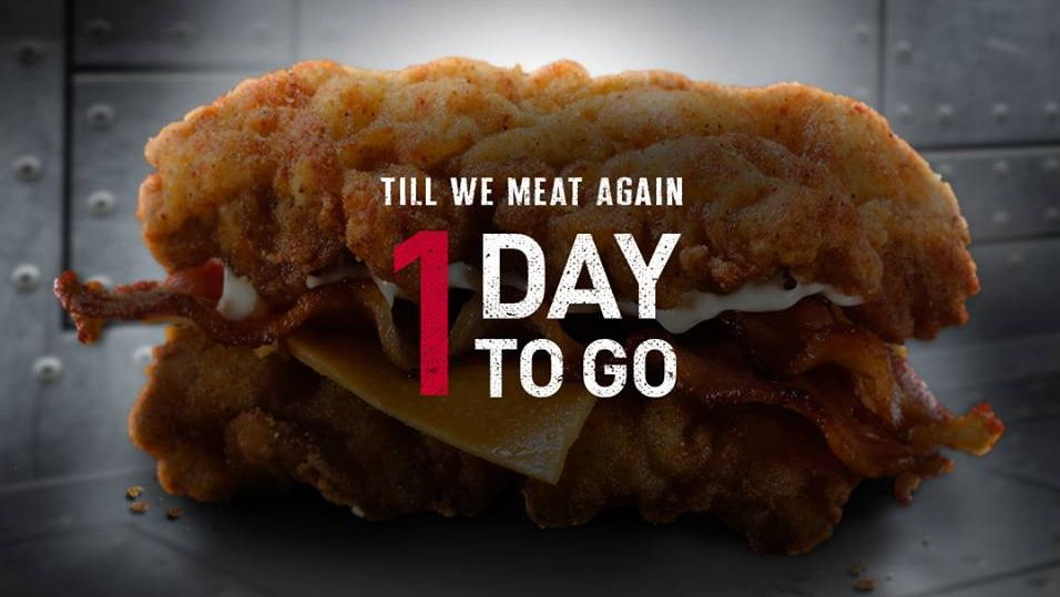 KFC's Double Down is making a comeback