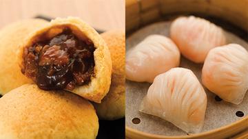 TIM HO WAN's Pork Buns and Shrimp Dumplings. Photo courtesy of Megaworld