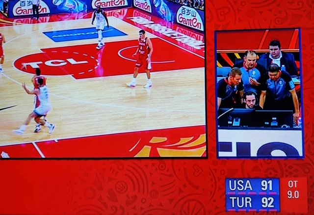 LOOK: Filipino referee officiates Turkey near-upset of USA