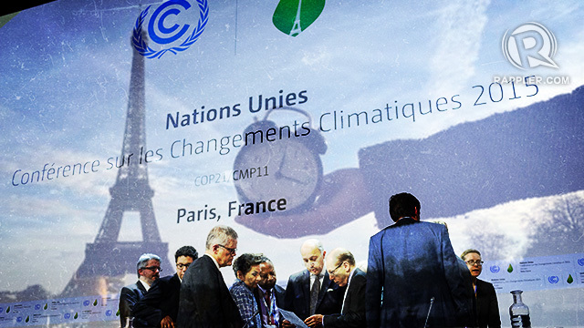 IT TAKES A VILLAGE. Countries have signed commitments to mitigate global warming