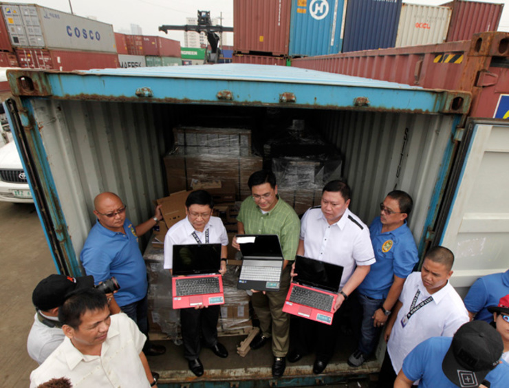 At customs for Bureau quarantine philippines