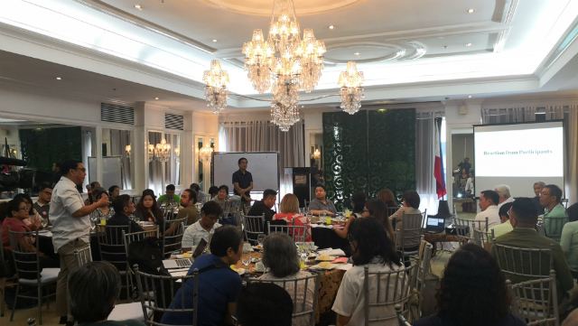 CONCERNS. Members of the Makatao coalition and civil society groups gathered on February 6, 2019, to discuss possible ramifications of SEC' MC 15 on nonprofit organizations. Photo by Russel Patina/Rappler