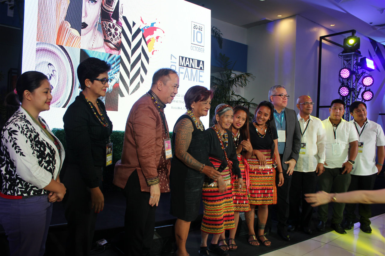 GALA NIGHT. NCCA received Apo Whang Od's nomination for the National Living Treasure Award on Saturday night, October 21. Photo by DTI-CITEM
