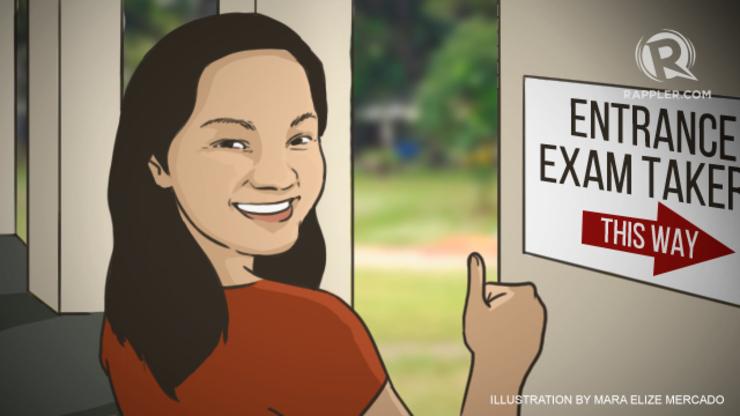 Ateneo College Entrance Test (ACET) essay part question?