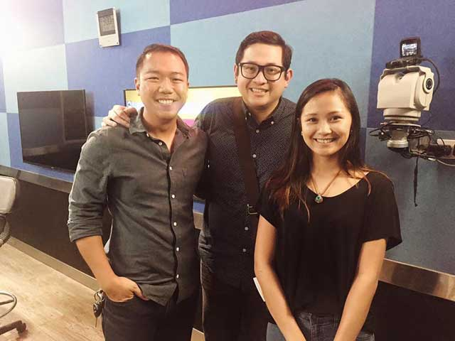 COLLABORATING TO MAKE A DIFFERENCE. Social enterprise advocates such as Senator Bam Aquino (center) have supported The Spark Project.