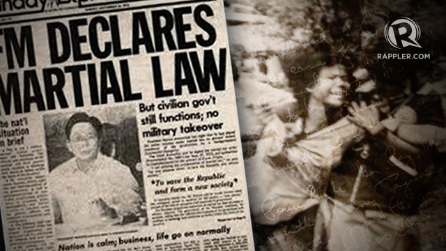 Help Youth Understand Why Never Again To Martial Law