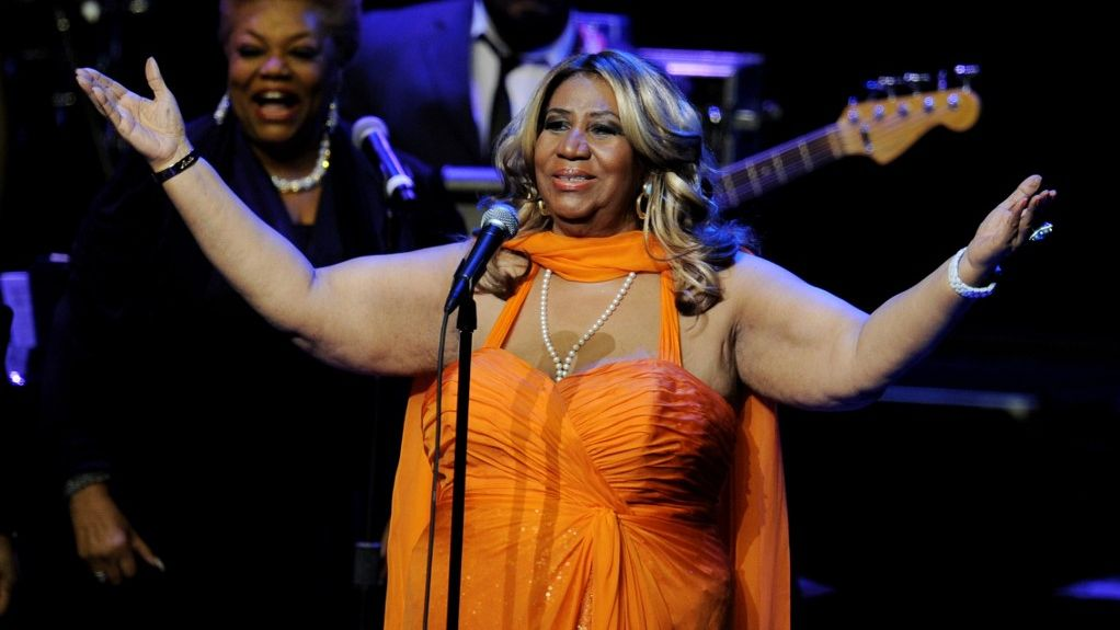 PULITZER PRIZE. The late Queen of Soul Aretha Franklin is awarded a special citation. Photo by Kevin Winter/Getty Images/AFP