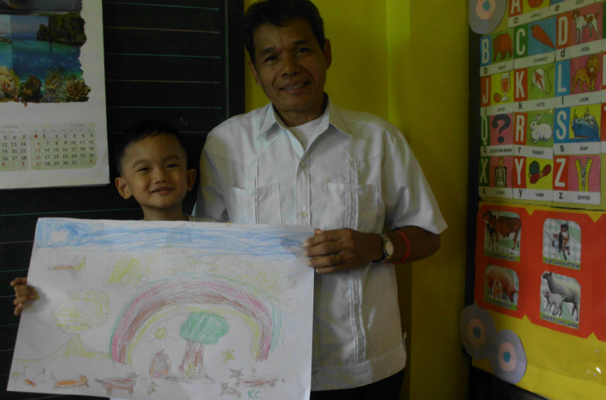 MORE THAN A JOB. For Teacher Hilarion, being a teacher is more than just a profession – it is a devotion.