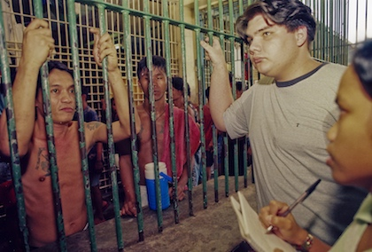GIVE UP TOMORROW. Paco Larrañaga, whose possible innocence was subject of a documentary, was once an inmate of Cebu City Jail.Thoughtful Robot