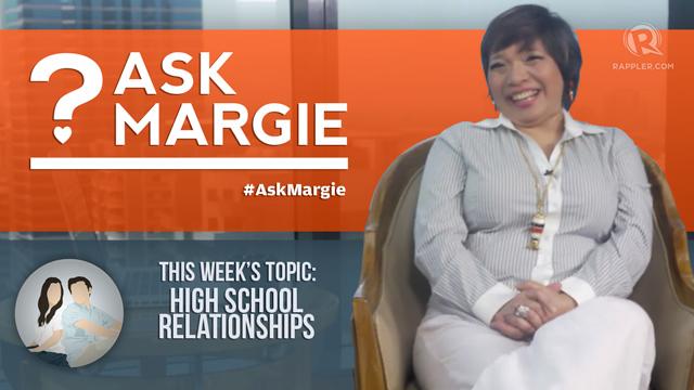AskMargie: High school relationships