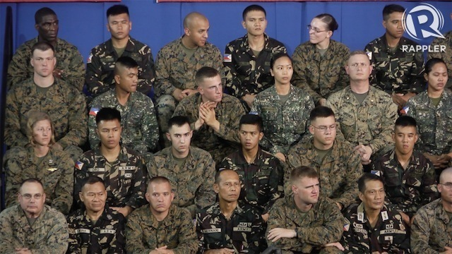 WAR GAMES. Special Operations forces of Philippine and US militaries begin war games this week. File photo by Rappler