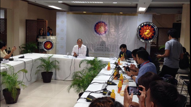 NEW SPENDING POLICY. Press briefing by Budget Secretary Benjamin Diokno on the 2017 budget. Photo by @PTV4ph