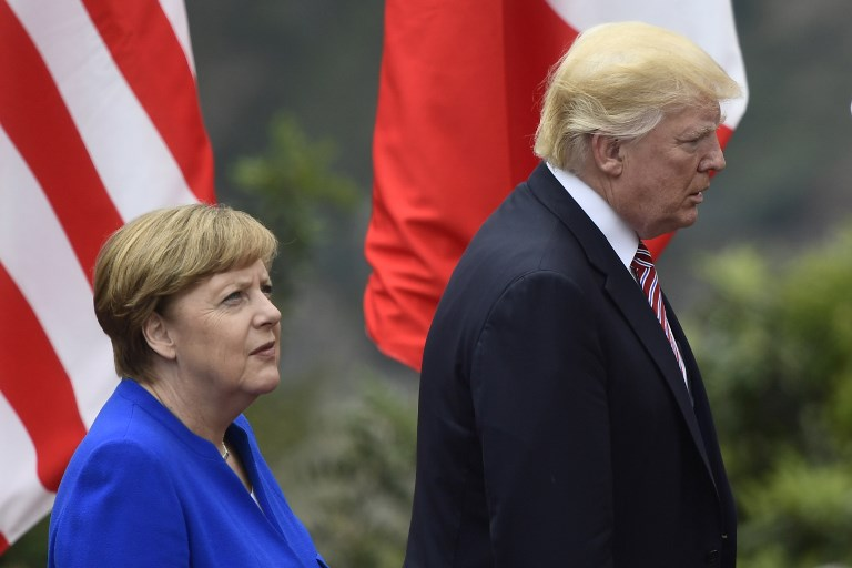 Image result for Merkel warns US, Britain no longer reliable partners, Europe