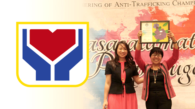 ANTI-HUIMAN TRAFFICKING. DSWD is recognized for its Recovery and Reintegration Program for Trafficked Persons (RRPTP), which provides a comprehensive package of services ranging from reporting to rehabilitation. Photo courtesy of DSWD