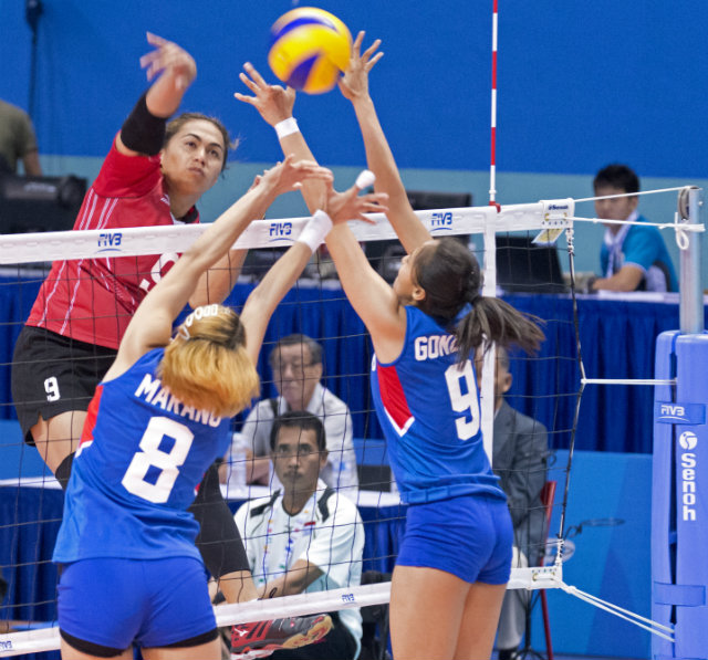 Indonesia sweeps Philippines in SEA Games women's volley ...