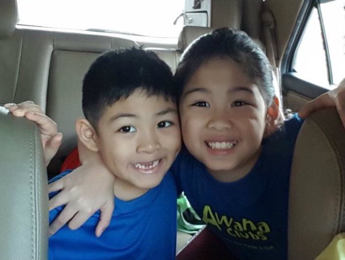 LESSON LEARNED. Julio Baltasar (left) suffered  injuries in a car crash in 2014 as he was not in a car seat when the incident happened.  He lost 3 of his front teeth then. Photo courtesy of Kelly Baltasar