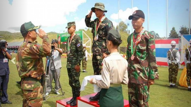 DEFENDING CHAMPION. The Royal Thai Army was the champion of the AARM 2015. File photo from the Royal Thai Army web site