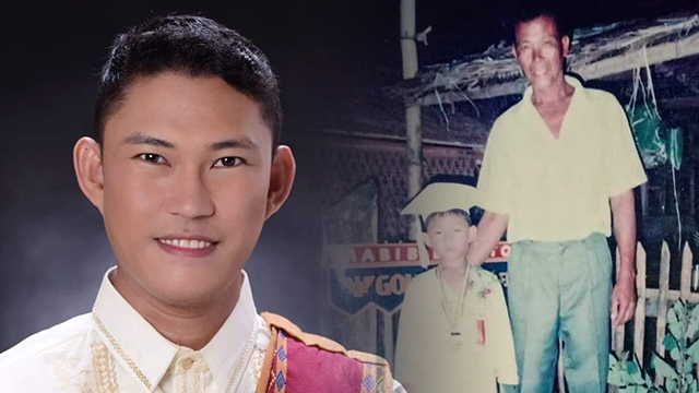 LOLO'S BOY. University of the Philippines Los Baños graduate Romel Arrobang says his grandfather influenced his passion for agriculture. Photo by Romel Arrobang