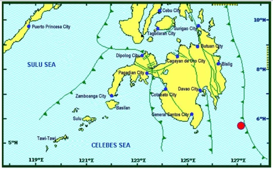 Magnitude 7 2 earthquake rocks Davao Oriental