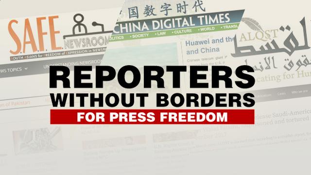 RSF unblocks 3 more sites censored in Saudi Arabia, Pakistan