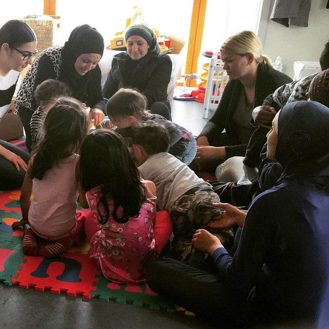 Поток беженцев в Данию серьезно сократился