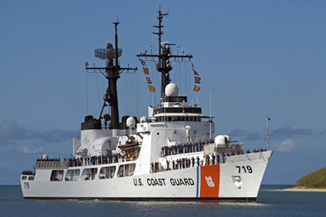 HAMILTON CLASS. The US Coast Guard ship USCG Boutwell is the 3rd Hamilton-class cutter that will be transferred to the Philippine Navy. Photo from US military website