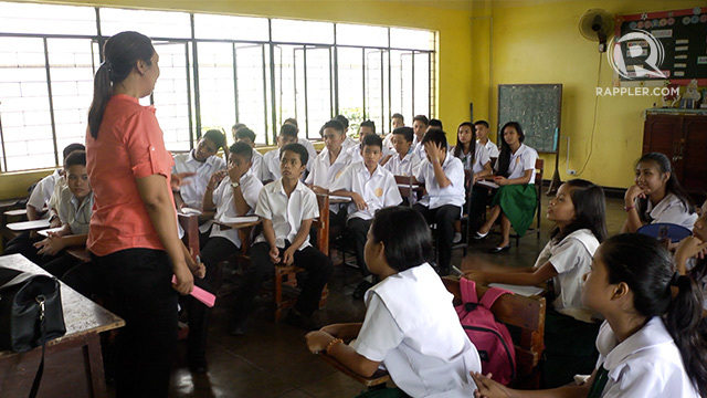 Teachers in the philippines
