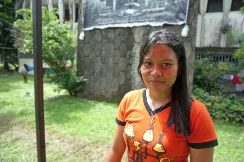 NOT AN NPA. Jinky denies accusations that Lumads are members of the New People's Army (NPA)