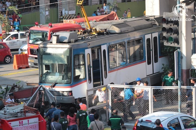 mrt 3 resumes operations slowdown at taft station expected