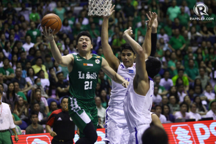 HEAD ARCHER. Jeron Teng took control of the game against his team's