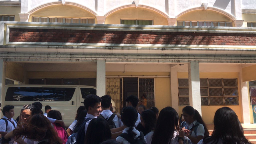 UNIVERSITY OF THE PHILIPPINES HIGH SCHOOL IN ILOILO. Photo by Hannah Neri