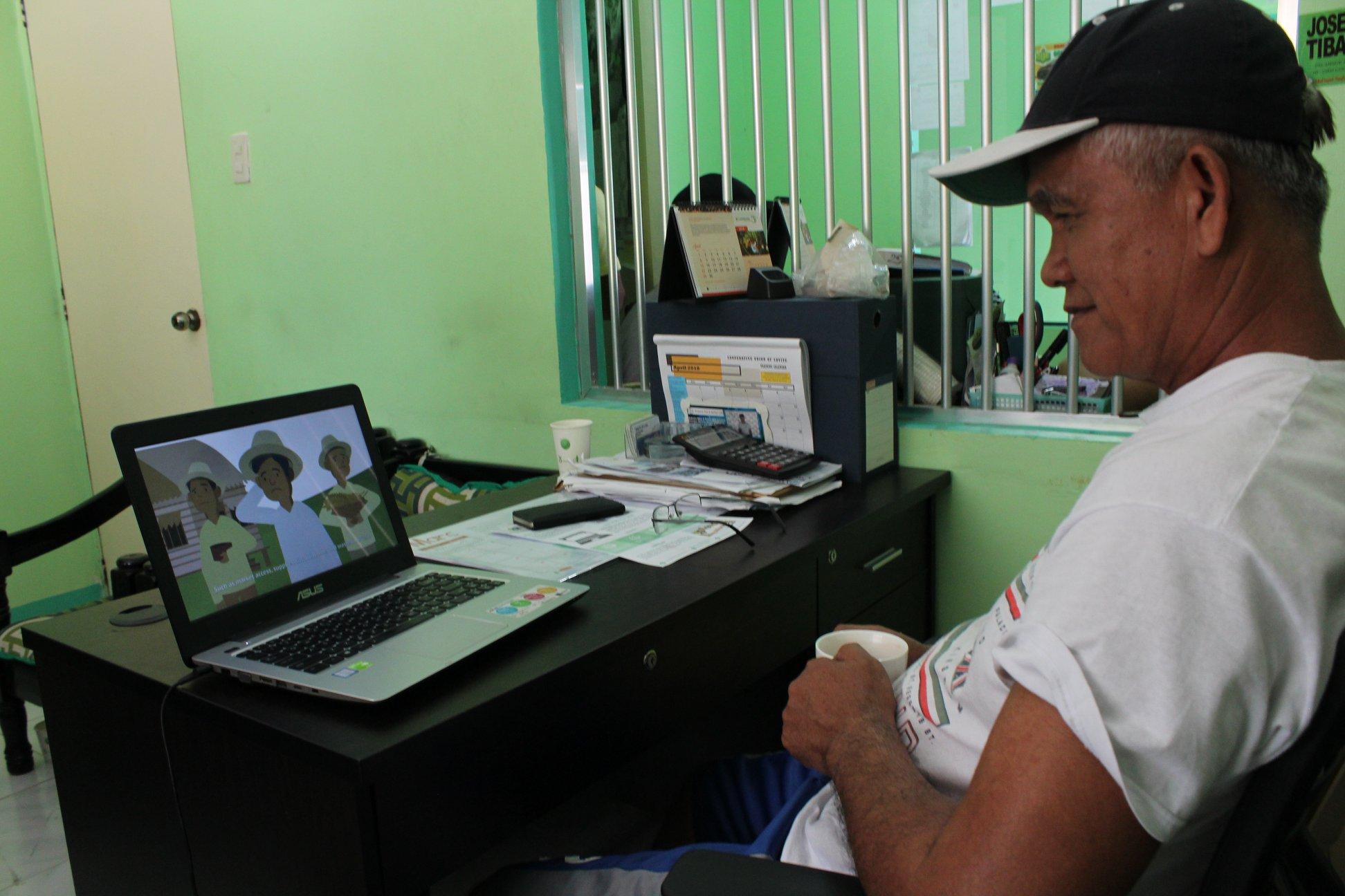 UPLIFTING LIVES. E-Magsasaka's goal is to uplift the lives of the Filipino smallholder farmers through technology. Photo courtesy of E-Magsasaka