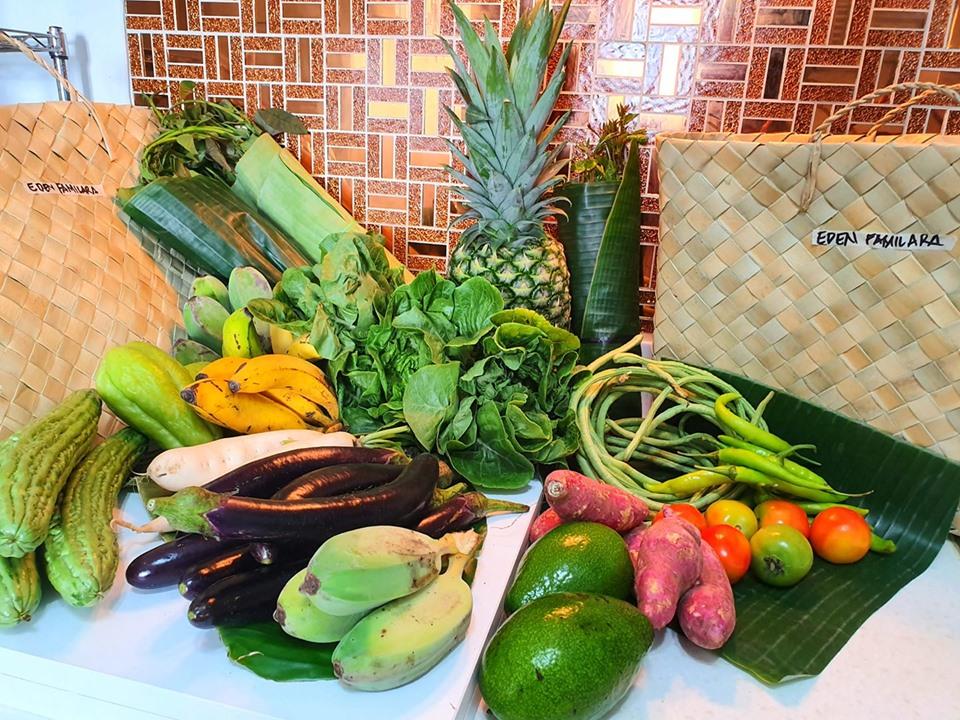 FRESH PRODUCE. Vegetables and fruits delivered by E-Magsasaka. Photo courtesy of Eden Familara
