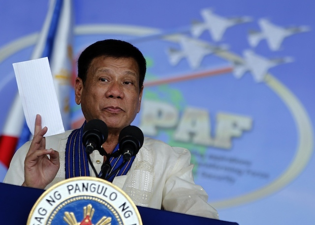 """Duterte to release an """"honor roll"""""""
