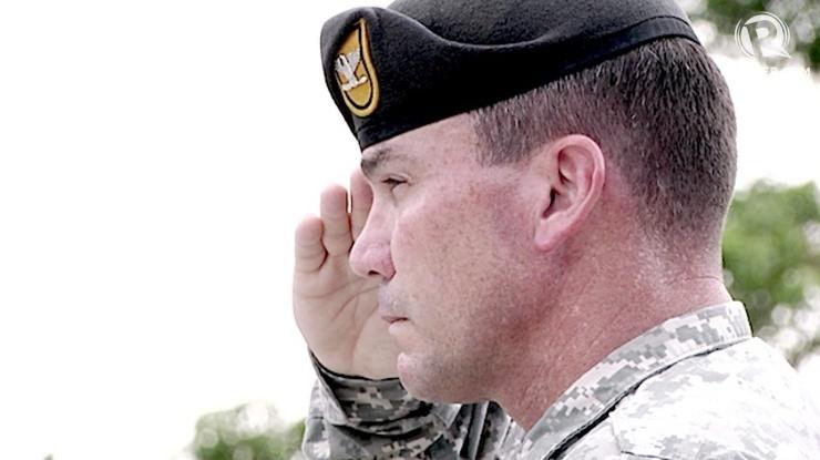 JSOTF-P COMMANDER: US Army Green Beret Colonel Robert McDowell
