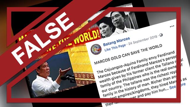 FALSE: Filipino 'royal family' ruled over pre-colonial 'Maharlika