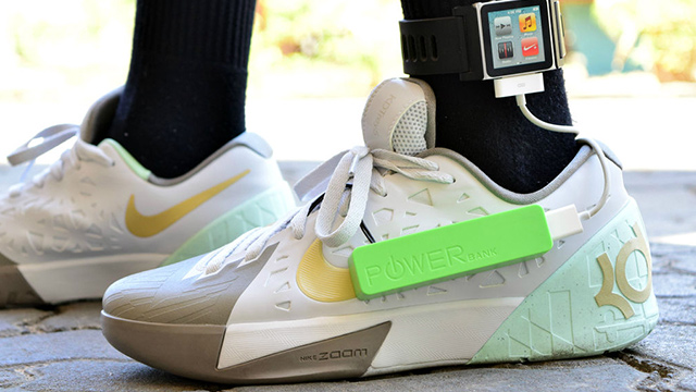 FOOTWEAR. Take a look at Angelo Casimiro's insole power generator. Photo from Angelo Casimiro