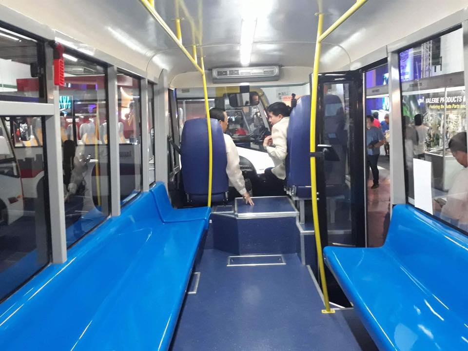 NEW. The prototype of the new modern vehicles looks similar to the design of the Metro Rail Train 3.