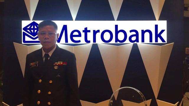 Chief Fernando Junio Parcon. Photo by Andrea Ocampo