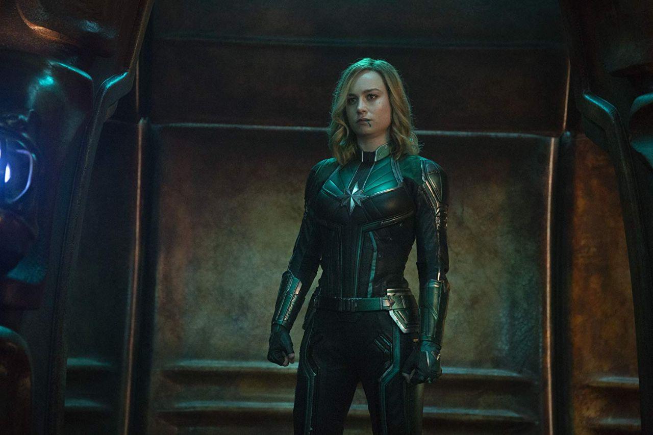 NEW HERO. Brie Larson is Captain Marvel. Photo courtesy of Marvel Studios