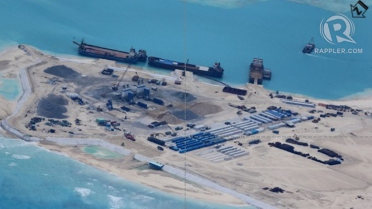 Photos show China's 'massive' reclamation in West PH Sea