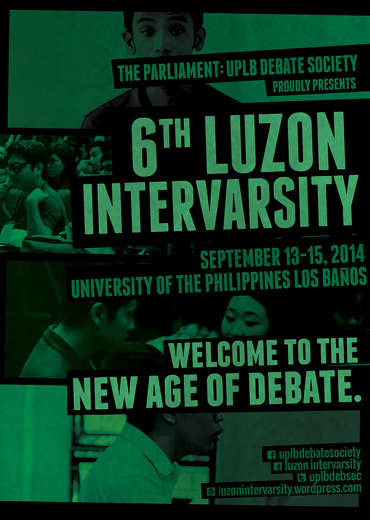 Uplb Debate Society Hosts 6th Luzon Intervarsity