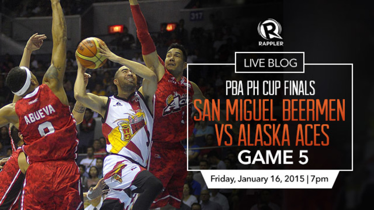 AS IT HAPPENS: San Miguel Beer vs Alaska (PBA PH Cup Finals game 5)