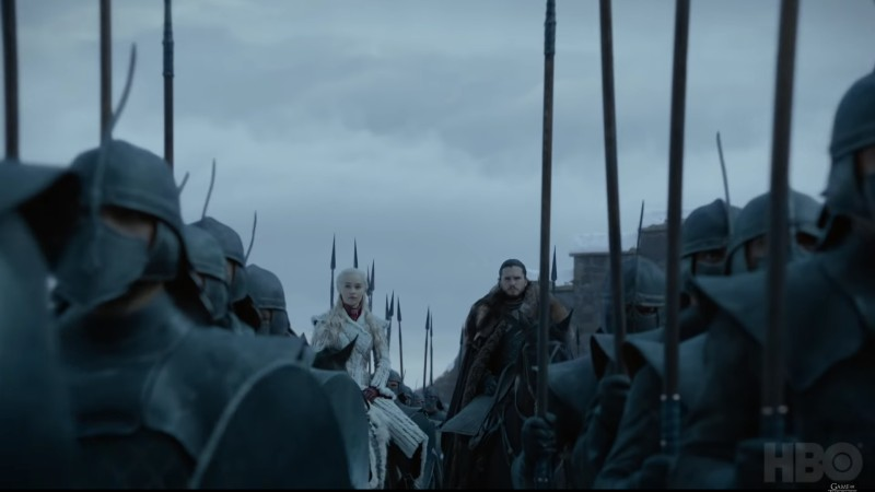 SEASON 8 IS HERE. The final 'Game of Thrones' season premieres April 14. Screenshot courtesy of HBO