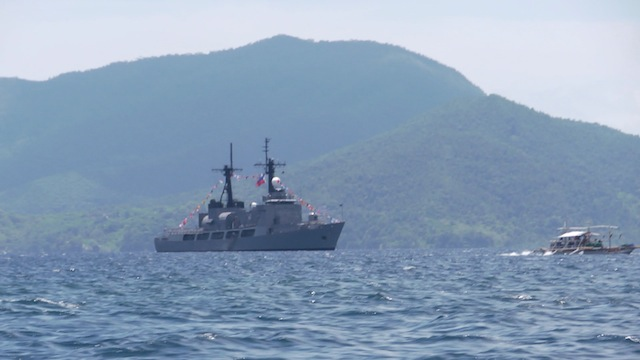 CAPABILITY DEMONSTRATION: The Philippine Navy will show President Benigno Aquino III its assets in Palawan. Photo by Rappler